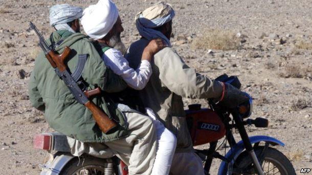 اشراف طالبان موترسایکل سوار